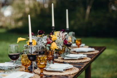 A gorgeous tablescape