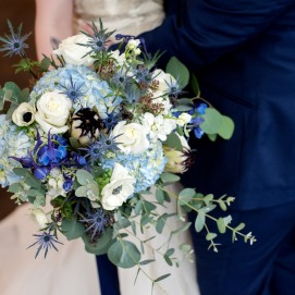 Celestial Classic Blue Wedding at Urban Studio